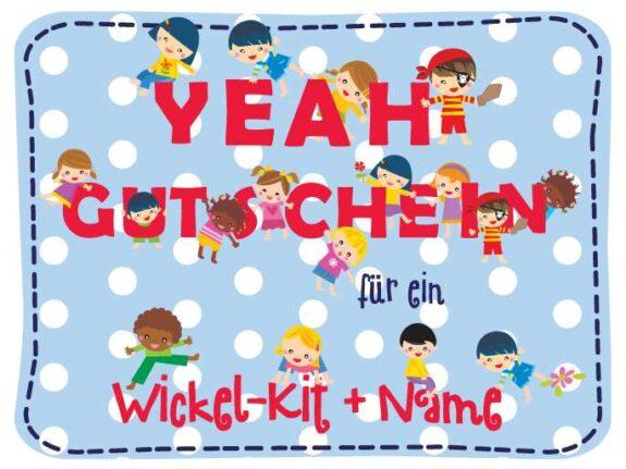 KakaduKid Gutscheine Wickel-Kit