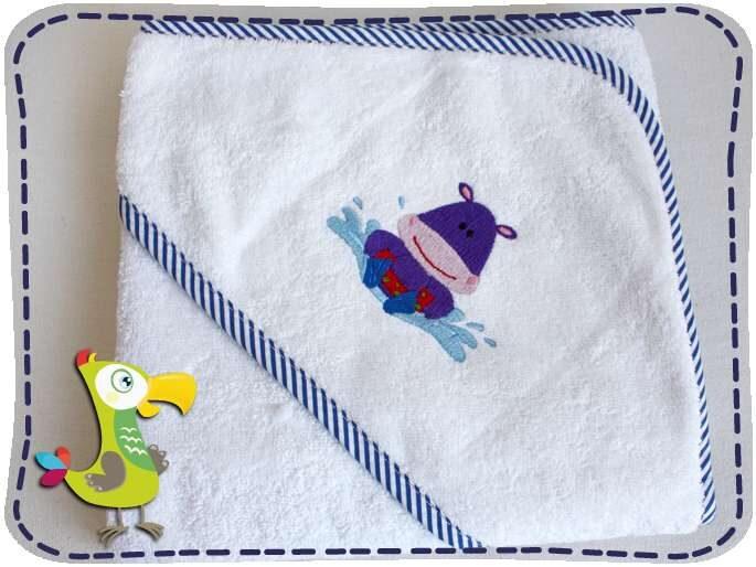 KakaduKid Nilpferd Handtuch