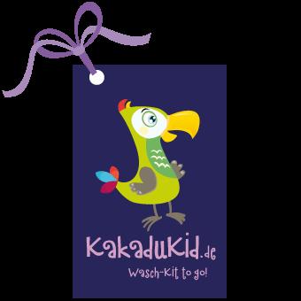 KakaduKid Etikett Wasch-Kit