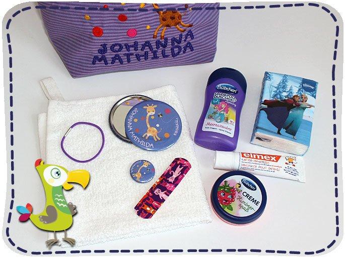 KakaduKid Wasch-Kit Inhalt
