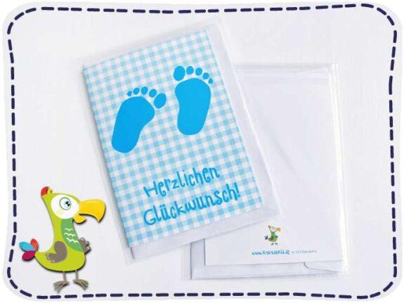 KakaduKid Geburtskarte