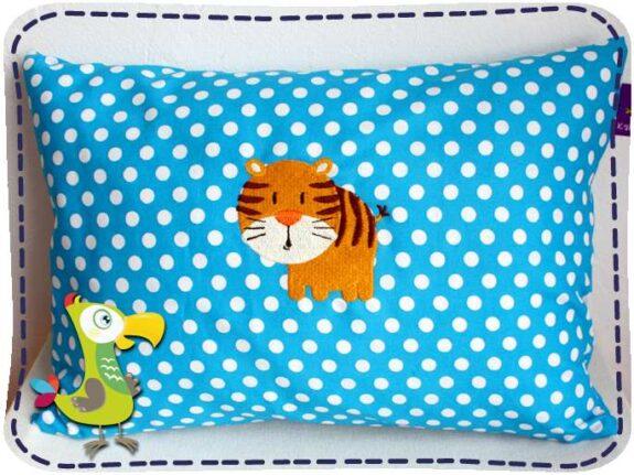 KakaduKid runder Tiger Kissen