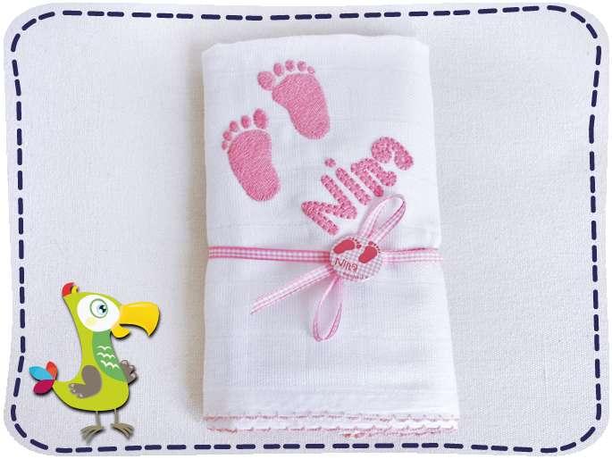 Mullwindel Mit Namen Prima Baby Geschenk Zur Geburt Kakadukid