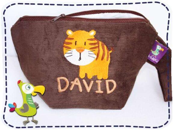 KakaduKid runder Tiger Tasche David