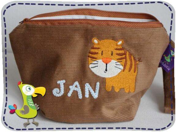 KakaduKid runder Tiger Tasche Jan