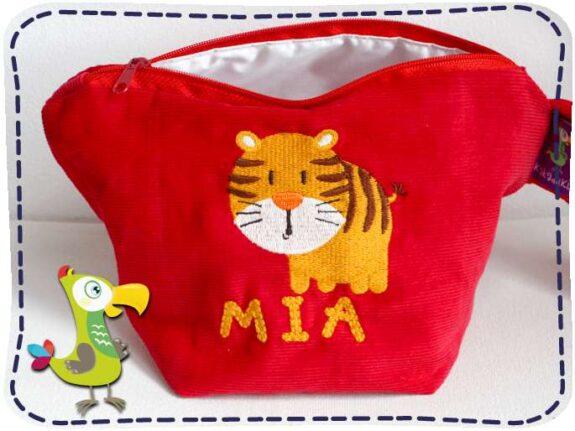 KakaduKid runder Tiger Tasche Mia