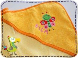 KakaduKid Handtuch Schmetterling Ella