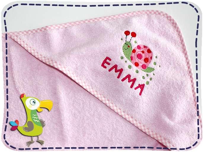 KakaduKid Handtuch Schnecke Emma