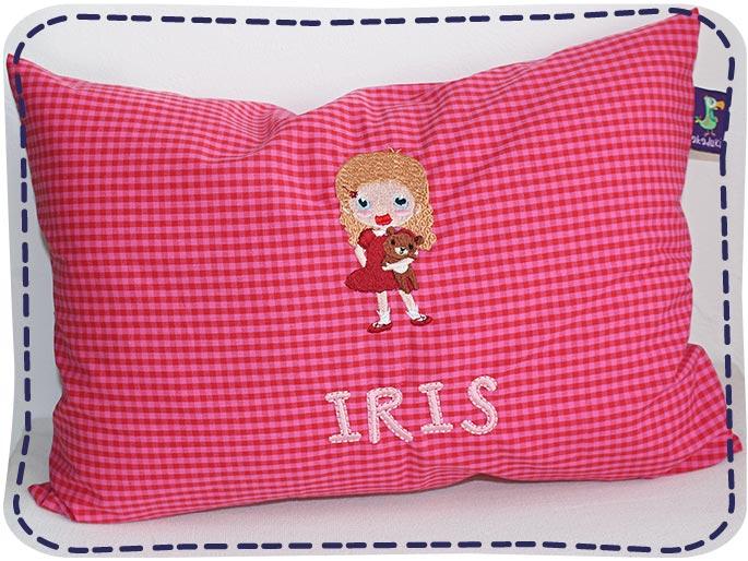 KakaduKid Kissen Schnatter-Girl Iris