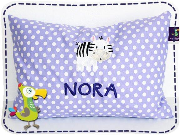 KakaduKid Kissen Zebra Nora
