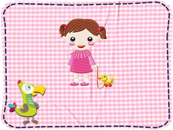 KakaduKid Girl mit Ente