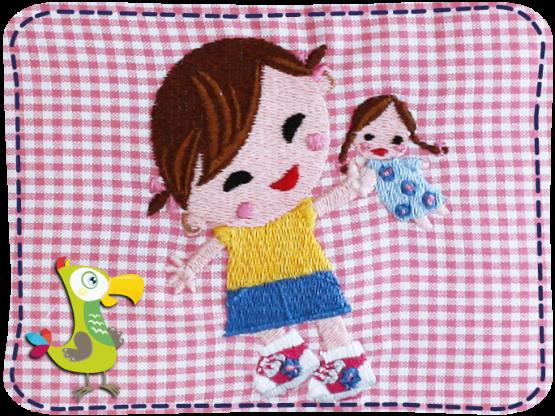 KakaduKid Girl mit Puppe