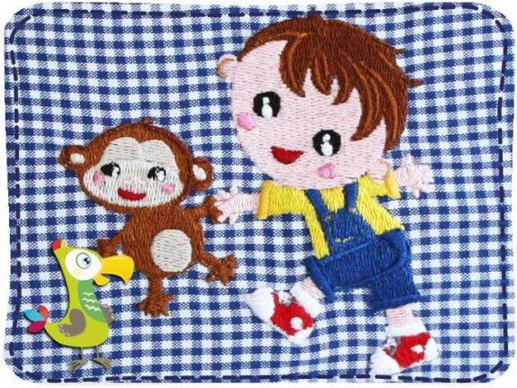 KakaduKid Junge mit Affe