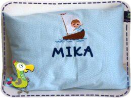 KakaduKid Boy im Boot Kissen Mika