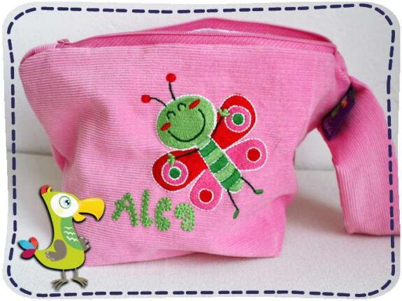KakaduKid Schmetterling Tasche