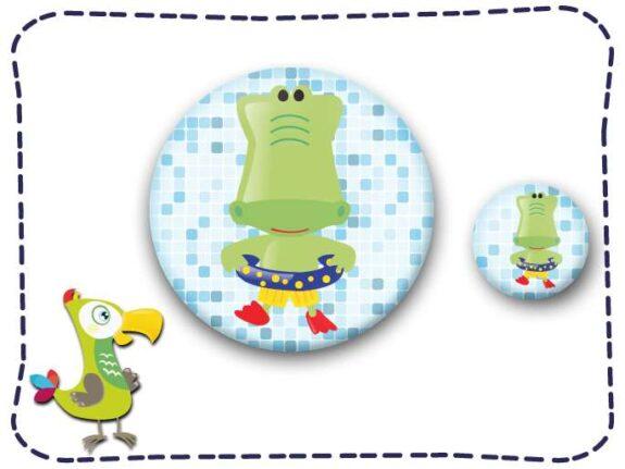 KakaduKid Kroko Buttonset