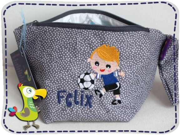 KakaduKid Fußballer Tasche Felix
