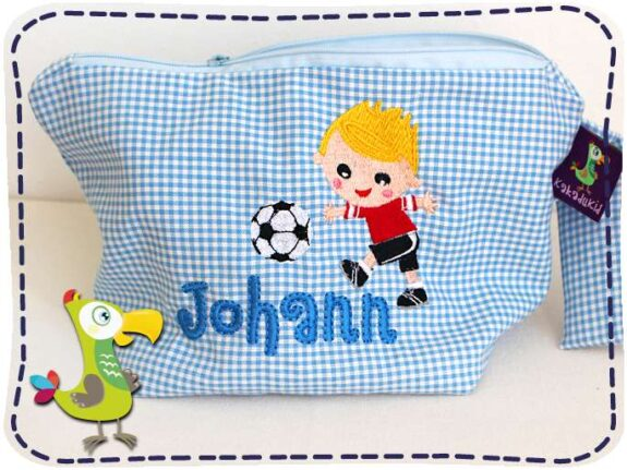 KakaduKid Fußballer Tasche Johann