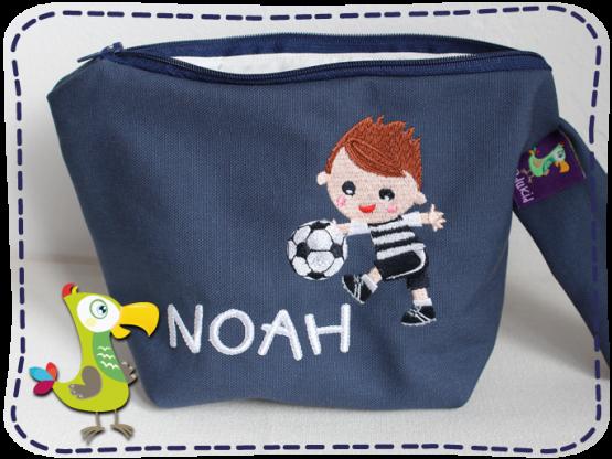 KakaduKid Fußballer Tasche Noah