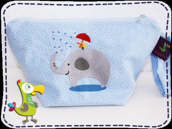 KakaduKid Tasche mit Vogel und Elefant Motiv