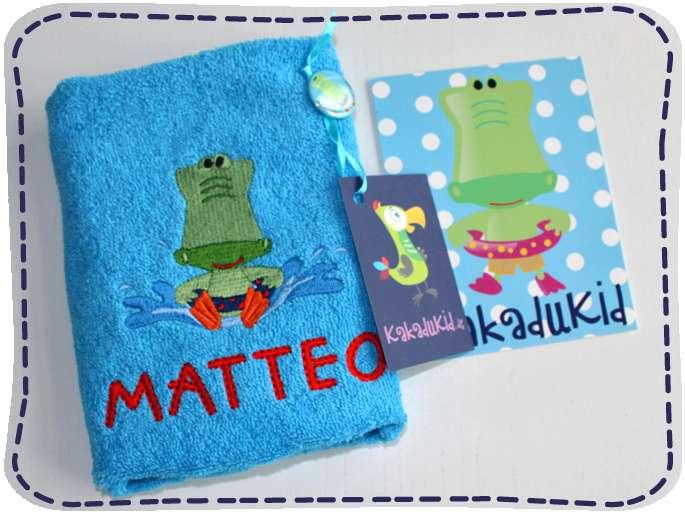 KakaduKid Handtuch Kroko Matteo
