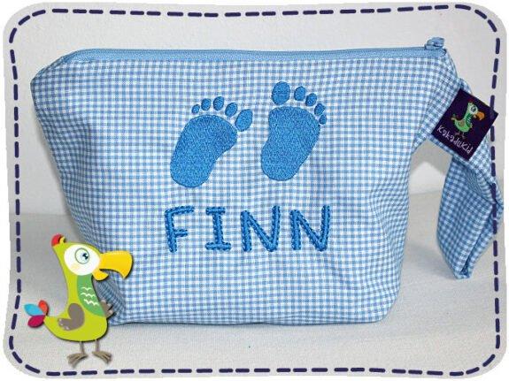 KakaduKid Tasche Babyfüßchen Finn