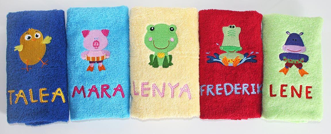 Kleine Handtücher
