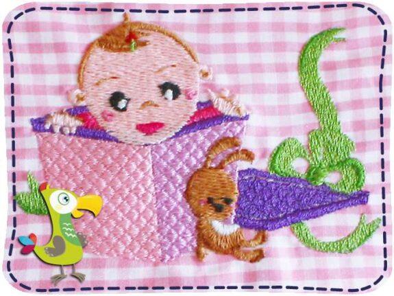 KakaduKid Kissen Baby in der Box