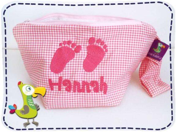 KakaduKid Babyfüßchen in rosa