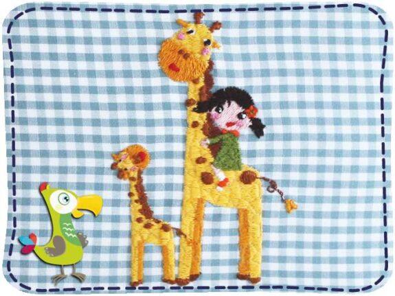 KakaduKid Kissen Giraffen