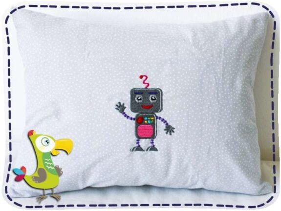 KakaduKid Kissen Roboter