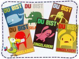 KakaduKid Monster...Grrr... Karten