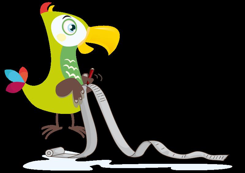 Der Kakadu schreibt
