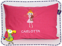 KakaduKid Kissen Prinzessin Carlotta