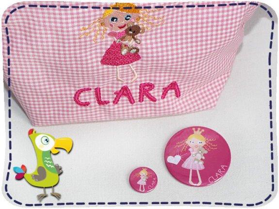 KakaduKid Spiegel Prinzessin Clara