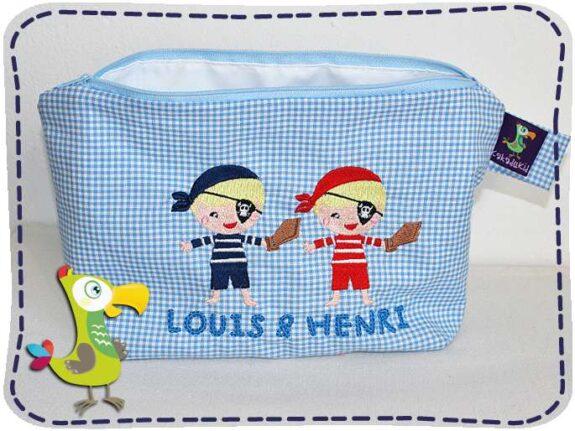 KakaduKid Zwillingstasche Louis & Henri