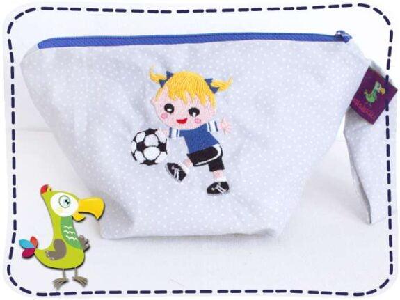 KakaduKid Fußballerin Tasche