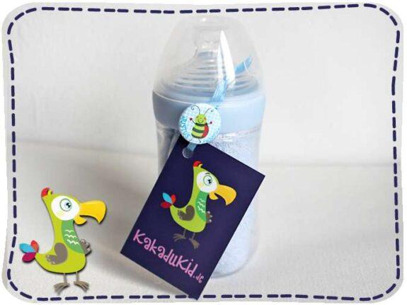 KakaduKid Lätzchen in der Flasche