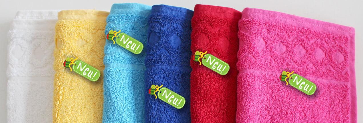KakaduKid Neue Farben für Handtücher