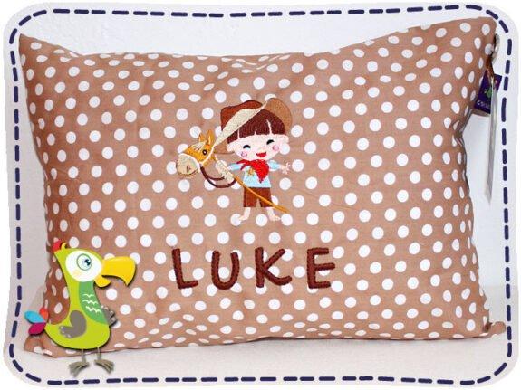 KakaduKid Kissen Cowboy Luke