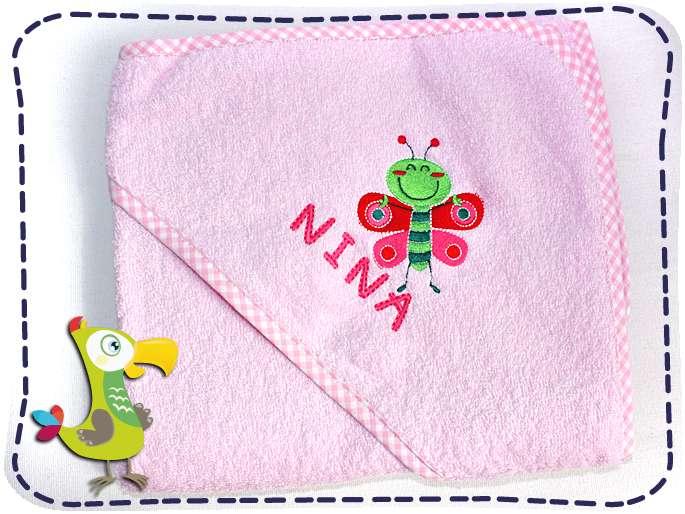 KakaduKid Handtuch Schmetterling Nina