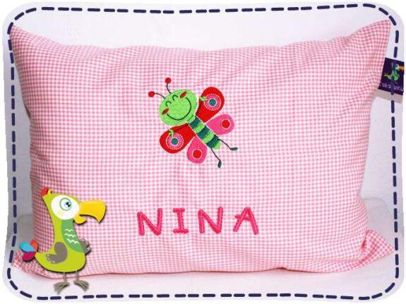 KakaduKid Kissen Schmetterling Nina