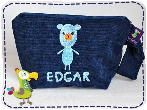 KakaduKid Tasche Rotknopfbär Edgar